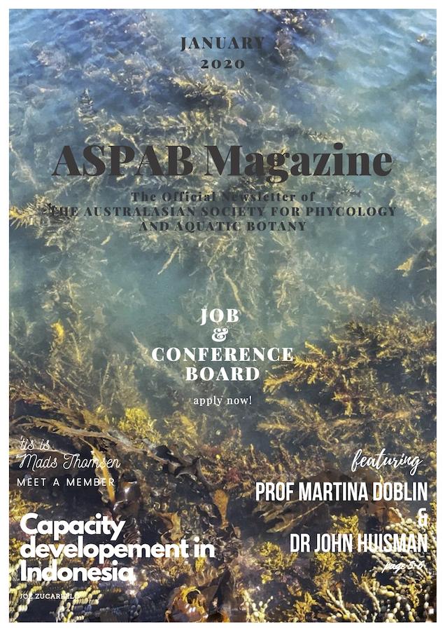 Newsletter 2020-1 Cover